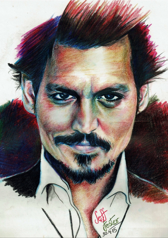 Johnny Depp by jeffcoolfoster92